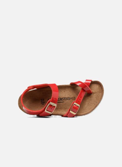 Sandales et nu-pieds Birkenstock Taormina Birko-Flor Rouge vue gauche