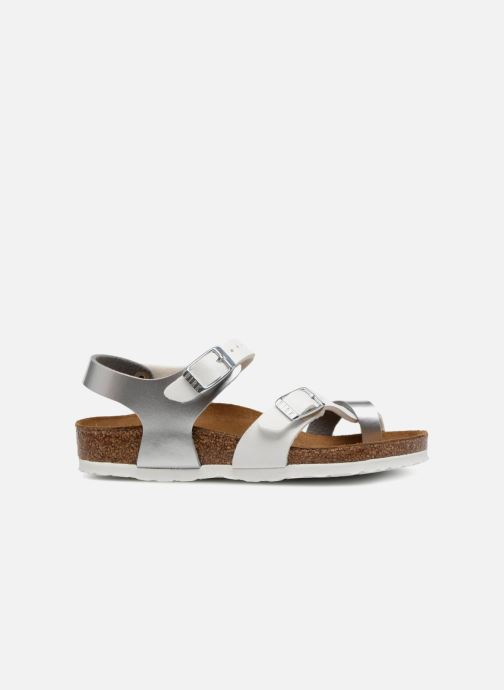 Sandales et nu-pieds Birkenstock Taormina Birko-Flor Argent vue derrière
