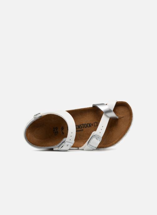 Sandales et nu-pieds Birkenstock Taormina Birko-Flor Argent vue gauche