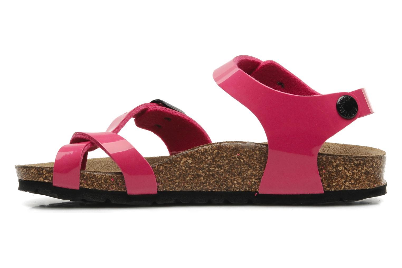 Sandalen Birkenstock Taormina Birko-Flor Roze voorkant