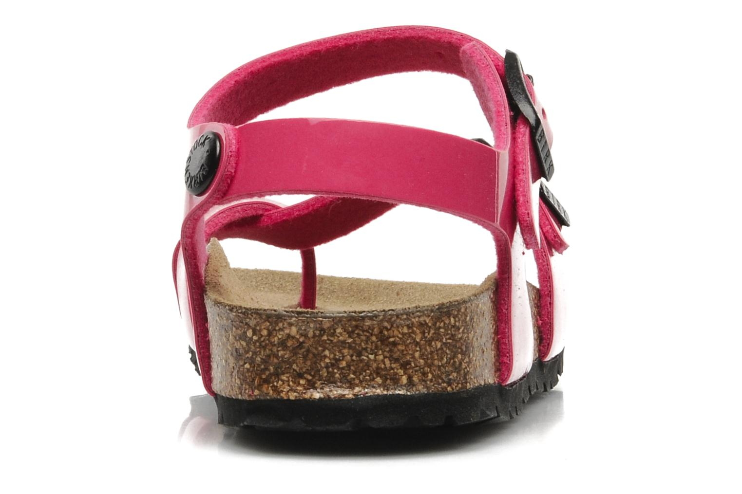 Sandals Birkenstock Taormina Birko-Flor Pink view from the right