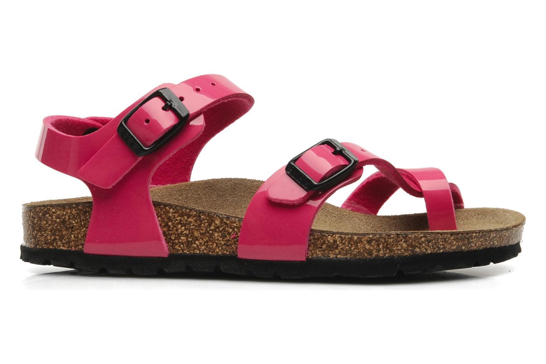 Sandalen Birkenstock Taormina Birko-Flor Roze achterkant