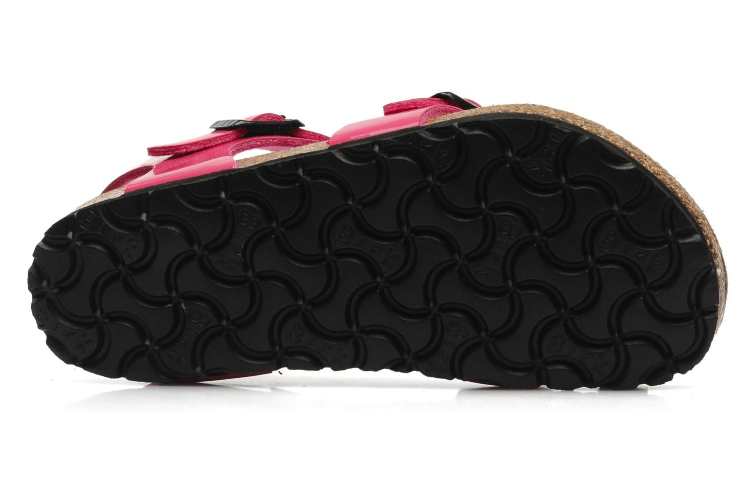 Sandals Birkenstock Taormina Birko-Flor Pink view from above