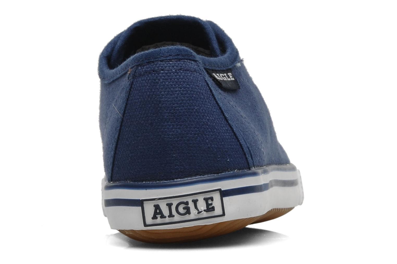 Sneakers Aigle Borizo Kid Blå Se fra højre