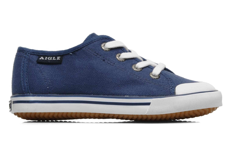 Sneakers Aigle Borizo Kid Blå se bagfra