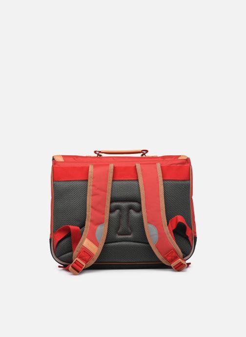 Scolaire Tann's Cartable 38 cm CLASSIC Rouge vue face