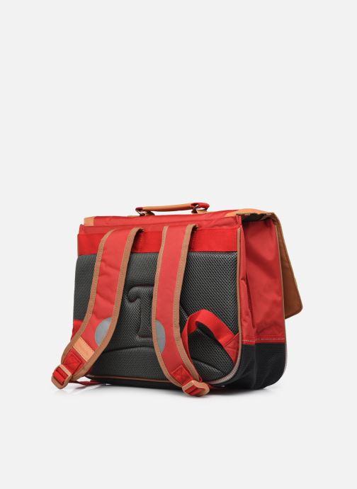 Scolaire Tann's Cartable 38 cm CLASSIC Rouge vue droite