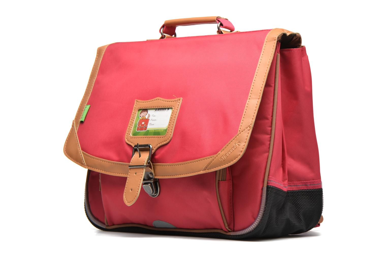 School bags Tann's Cartable 38 cm CLASSIC Pink model view