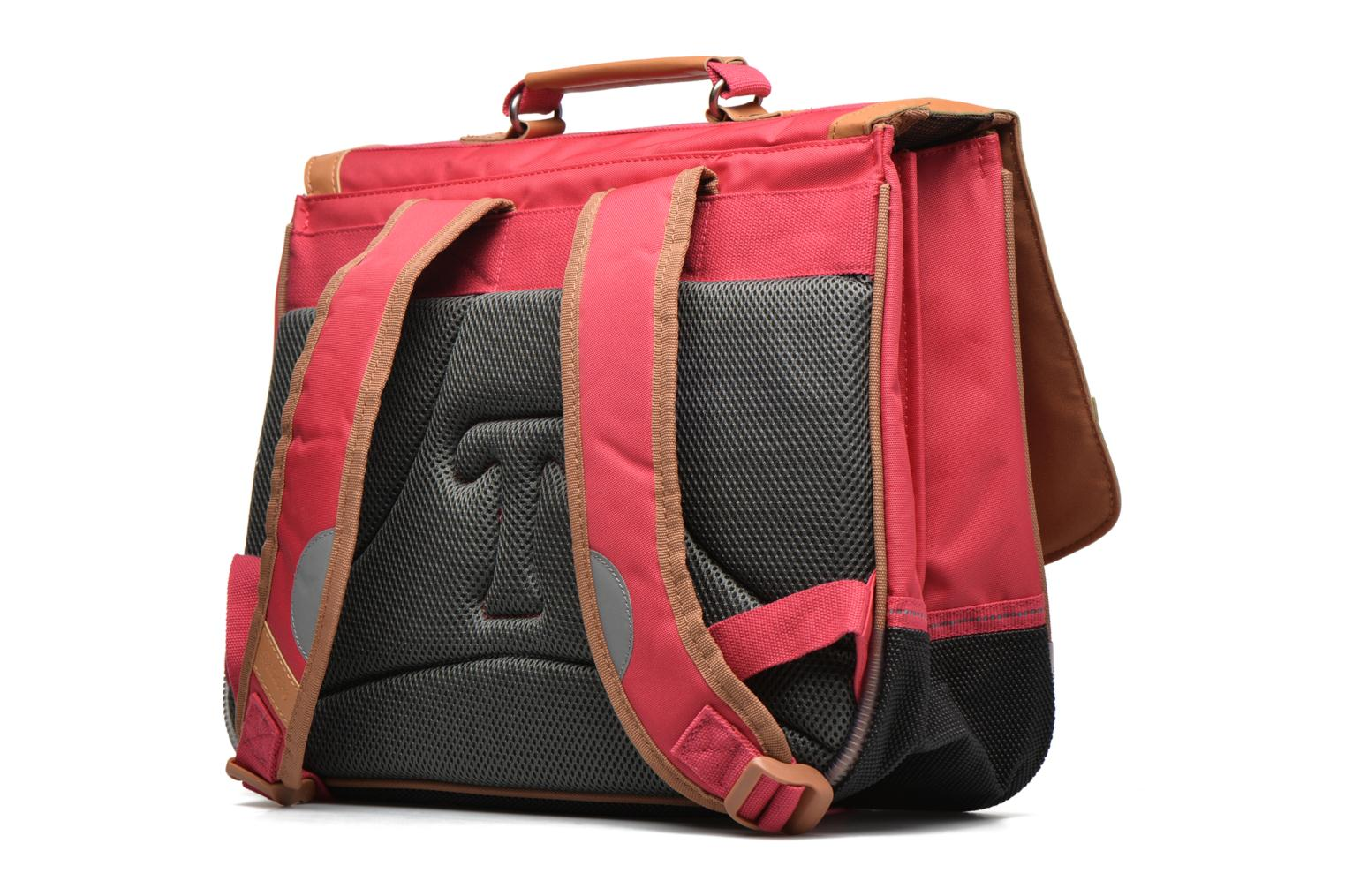 School bags Tann's Cartable 38 cm CLASSIC Pink view from the right