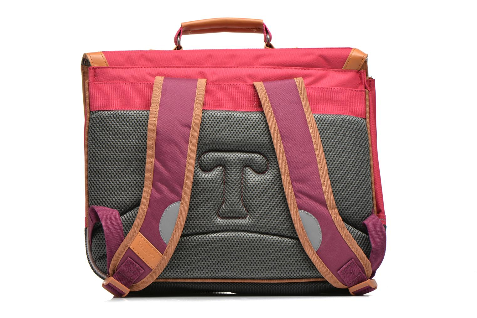 School bags Tann's Cartable 38 cm CLASSIC Pink front view