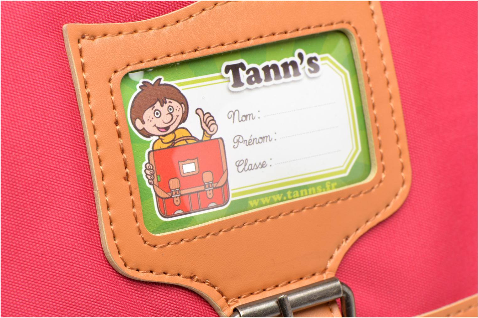 School bags Tann's Cartable 38 cm CLASSIC Pink view from the left