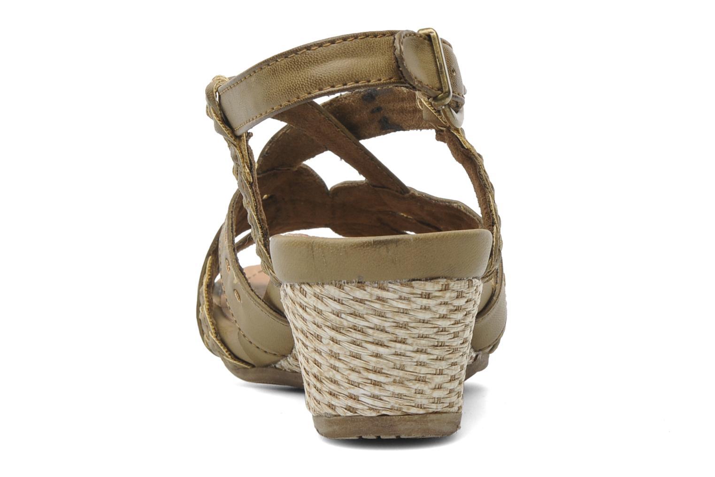 Sandales et nu-pieds I Love Shoes Suzanita Marron vue droite
