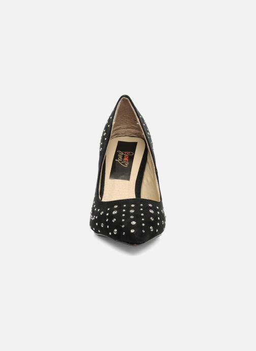 High heels I Love Shoes Phodam Black model view