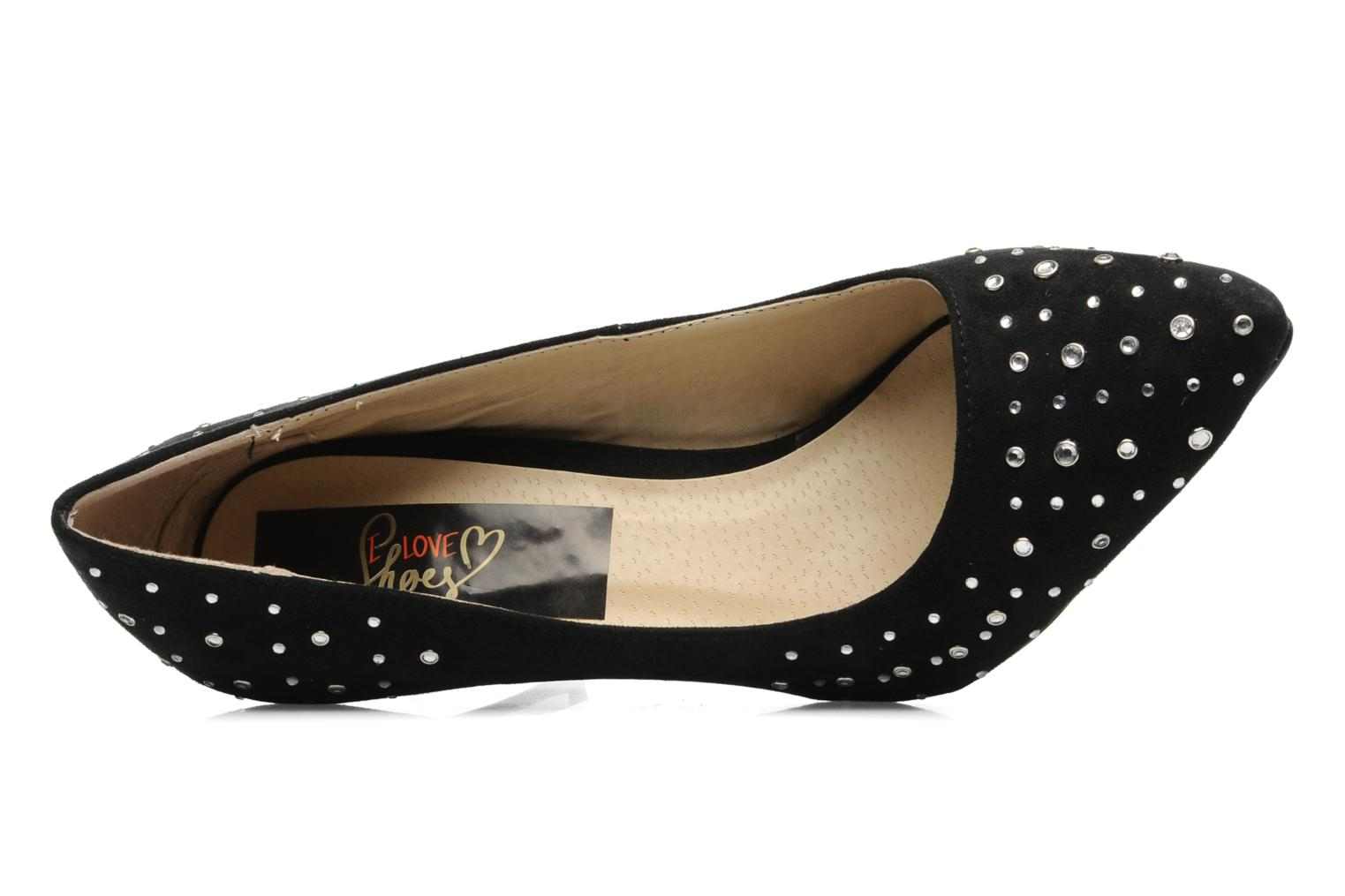 Escarpins I Love Shoes Phodam Noir vue gauche