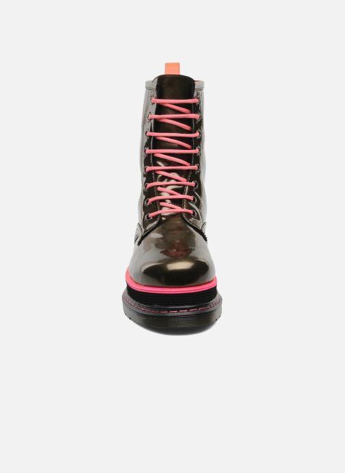 Stiefeletten & Boots Buffalo Oceano gold/bronze schuhe getragen