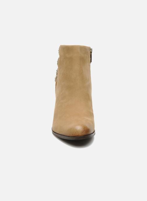 Bottines et boots Sam Edelman Lucca Beige vue portées chaussures