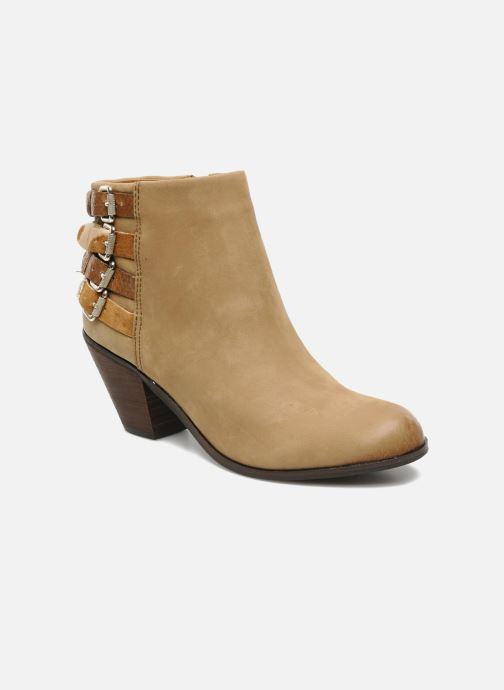 Bottines et boots Sam Edelman Lucca Beige vue détail/paire