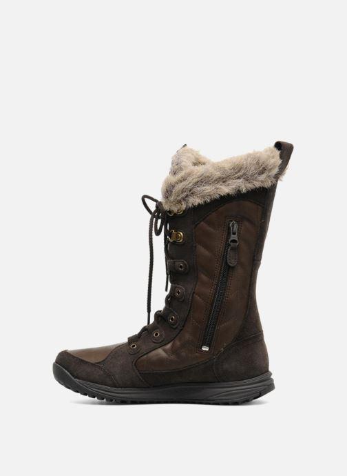 Chaussures de sport Teva Lenawee Lther Wp Marron vue face