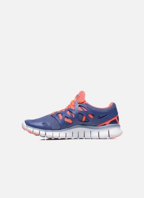 Sport shoes Nike Wmns Nike Free Run+ 2 Ext Blue front view