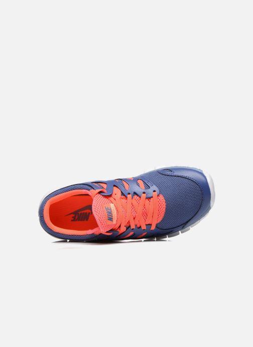 Sportschuhe Nike Wmns Nike Free Run+ 2 Ext blau ansicht von links