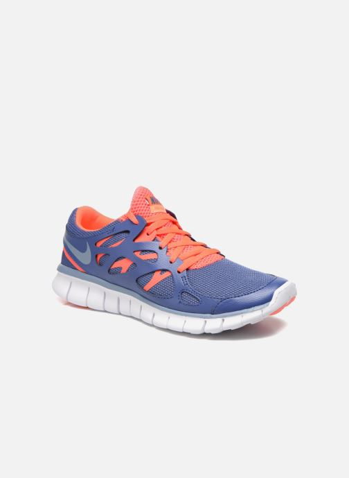 Sport shoes Nike Wmns Nike Free Run+ 2 Ext Blue detailed view/ Pair view