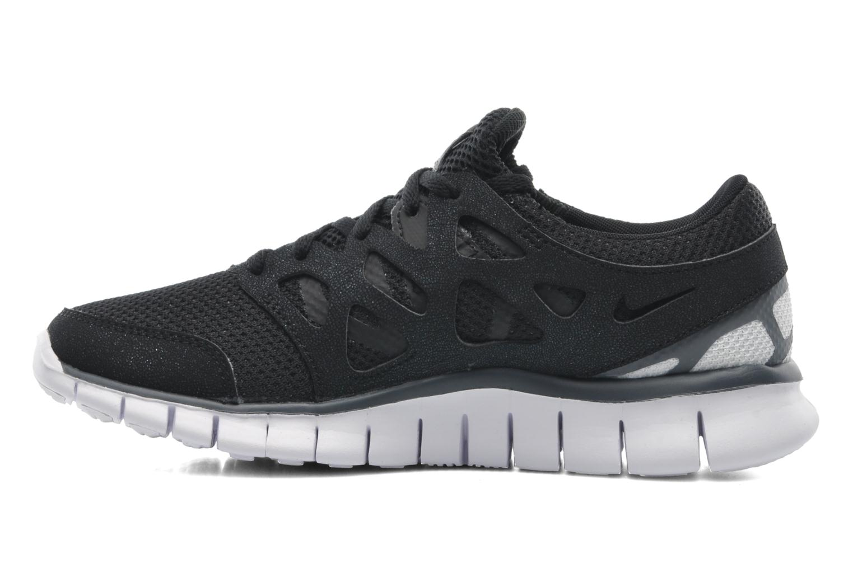 Sportschoenen Nike Wmns Nike Free Run+ 2 Ext Zwart voorkant