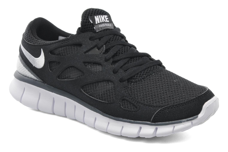 Sportschoenen Nike Wmns Nike Free Run+ 2 Ext Zwart detail