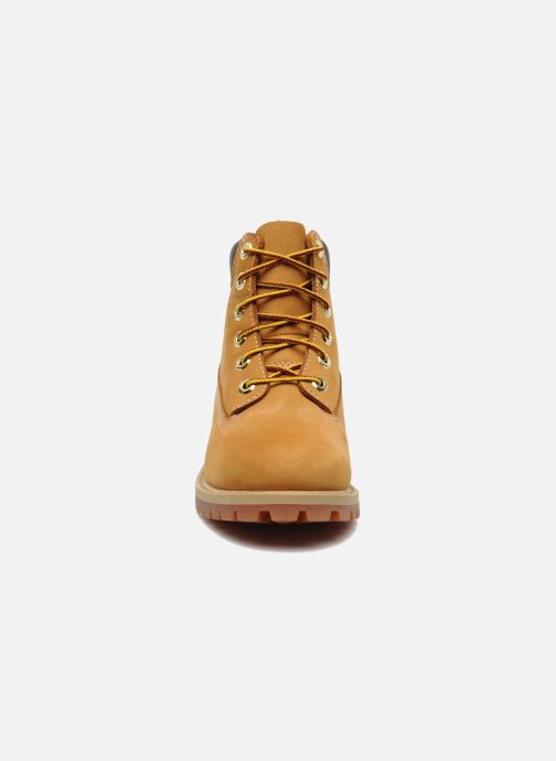 Bottines et boots Timberland 6 In Premium WP Boot Beige vue portées chaussures