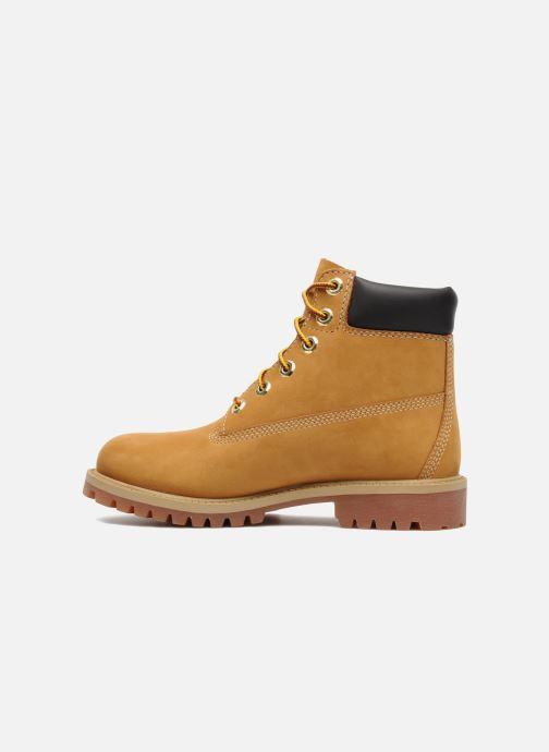 Boots en enkellaarsjes Timberland 6 In Premium WP Boot Beige voorkant