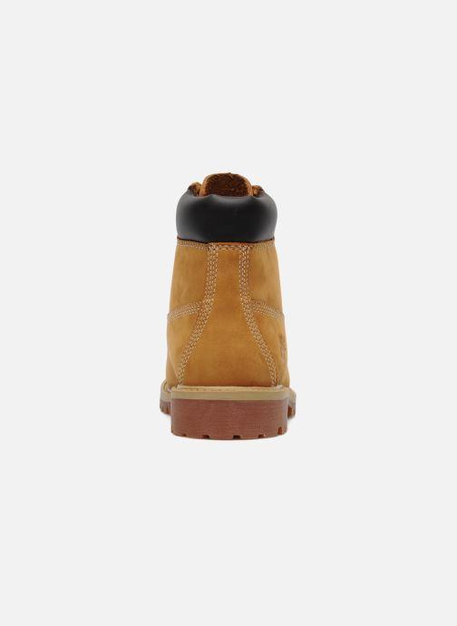 Botines  Timberland 6 In Premium WP Boot Beige vista lateral derecha
