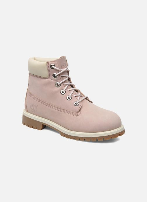 Premium 6 Inch Boot for Women in Pale Pink