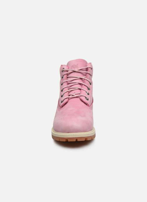 Bottines et boots Timberland 6 In Premium WP Boot Rose vue portées chaussures