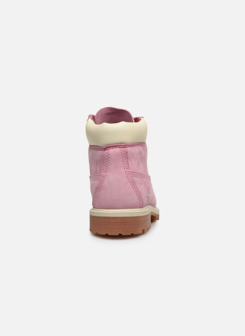 Bottines et boots Timberland 6 In Premium WP Boot Rose vue droite