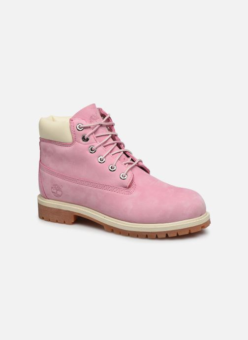 Bottines et boots Timberland 6 In Premium WP Boot Rose vue détail/paire
