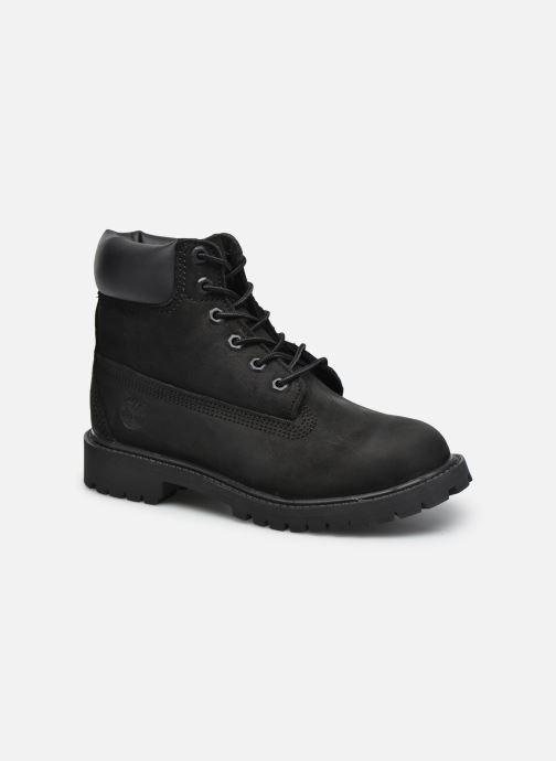 Ankelstøvler Timberland 6 In Premium WP Boot Sort detaljeret billede af skoene
