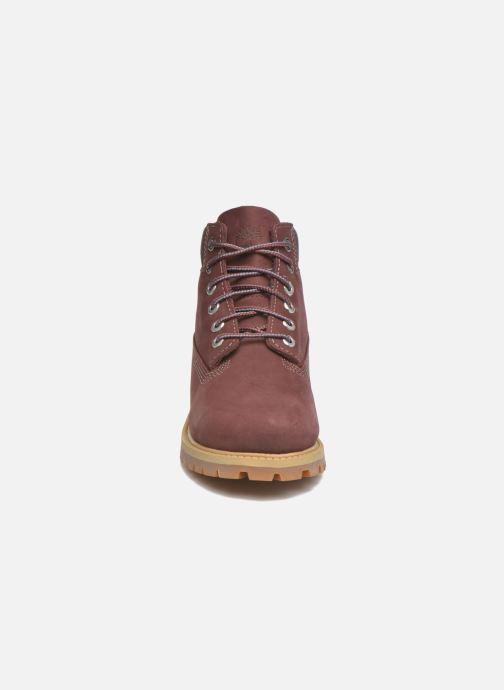 Bottines et boots Timberland 6 In Premium WP Boot Bordeaux vue portées chaussures