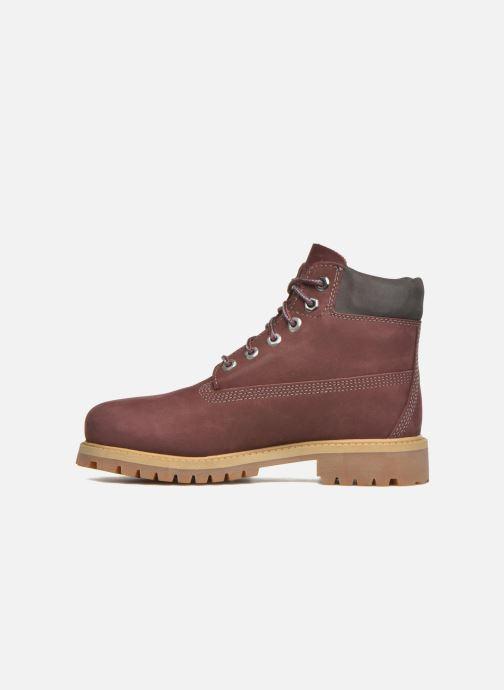 Bottines et boots Timberland 6 In Premium WP Boot Bordeaux vue face