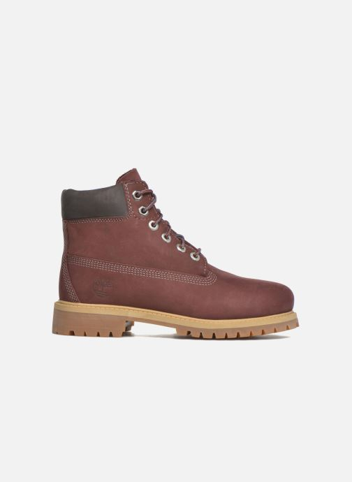 Ankle boots Timberland 6 In Premium WP Boot Burgundy back view