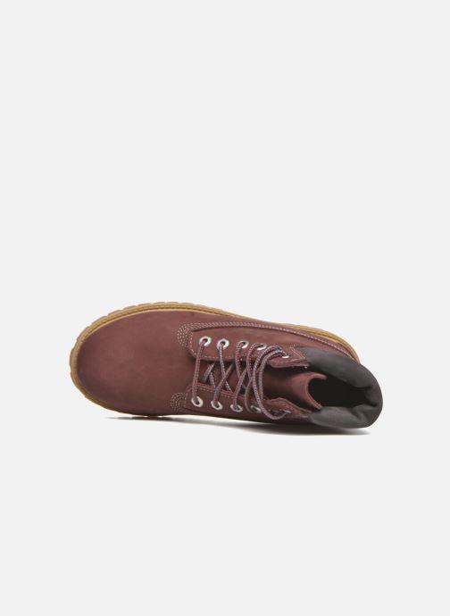 Bottines et boots Timberland 6 In Premium WP Boot Bordeaux vue gauche