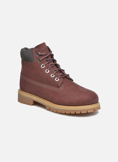 Bottines et boots Timberland 6 In Premium WP Boot Bordeaux vue détail/paire
