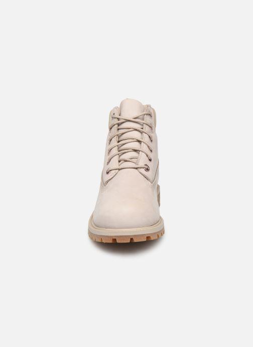 Stiefeletten & Boots Timberland 6 In Premium WP Boot grau schuhe getragen
