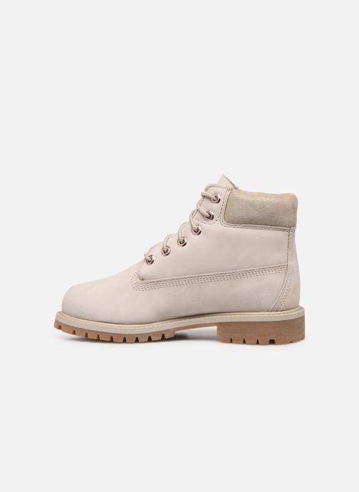 Boots en enkellaarsjes Timberland 6 In Premium WP Boot Grijs voorkant