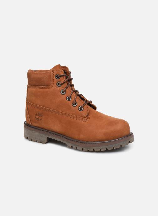 6 In Premium WP Boot - Marron