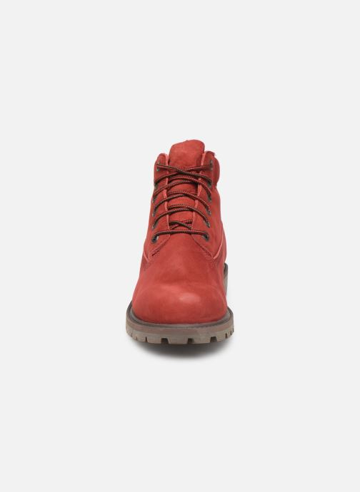 Bottines et boots Timberland 6 In Premium WP Boot Rouge vue portées chaussures