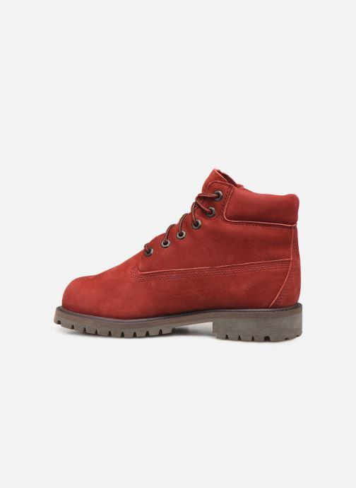 Boots en enkellaarsjes Timberland 6 In Premium WP Boot Rood voorkant