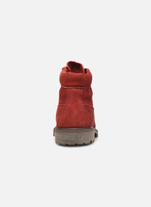Boots en enkellaarsjes Timberland 6 In Premium WP Boot Rood rechts