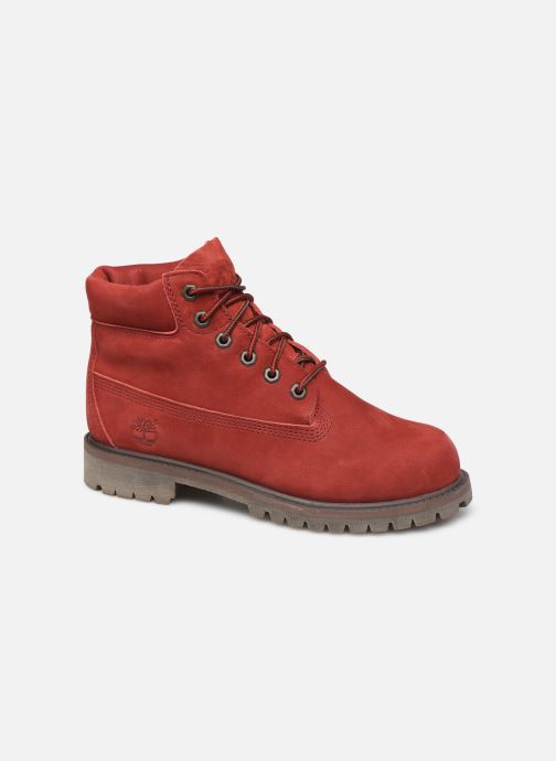 Boots en enkellaarsjes Timberland 6 In Premium WP Boot Rood detail