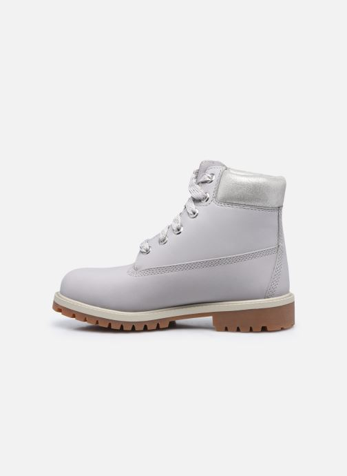 Bottines et boots Timberland 6 In Premium WP Boot Argent vue face