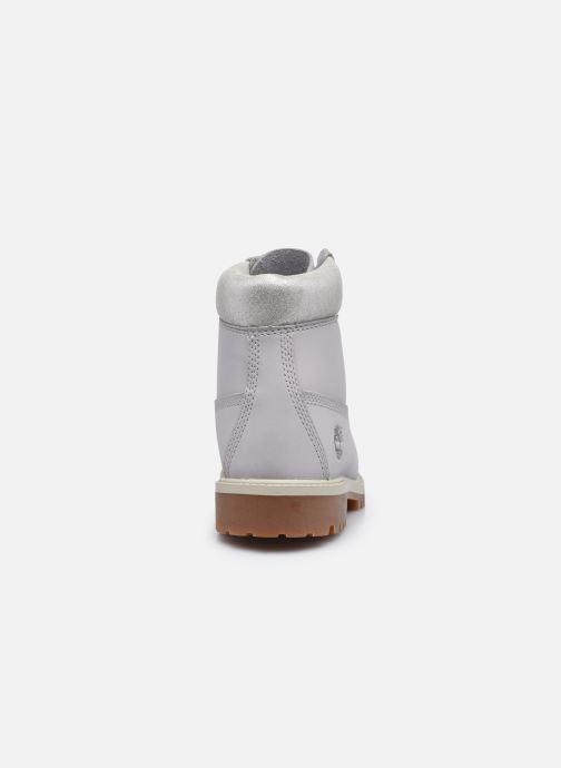 Stivaletti e tronchetti Timberland 6 In Premium WP Boot Argento immagine destra
