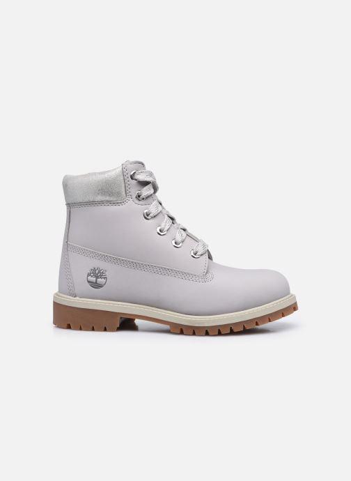 Stiefeletten & Boots Timberland 6 In Premium WP Boot silber ansicht von hinten